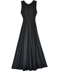 Samantha Pleet Black Silk Revival Dress