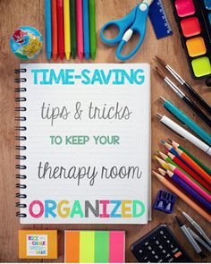 Time-Saving Tips for Speech Room Organization