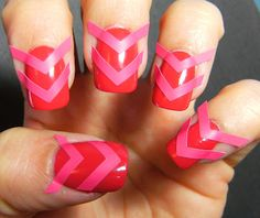 Deez Nailz: Chevron Nails
