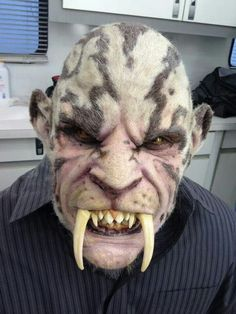 Interesting character idea. Well applied prosthetics and paint job.