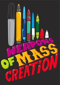 Weapons of Mass Creation - advertising for NaNoWriMo