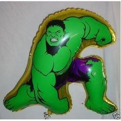 67cm 'The Incredible Hulk' Shape Foil Balloon (CS60)