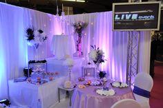 mariage, wedding, decoration, stand, salon du mariage, wedding fair, robe de mariée, weddingdress, flowers