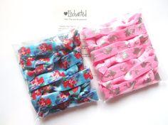 ARIEL MERMAID Bulk Pack x30 Soft Elastic Hair by EnchantedHairTies