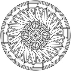 Mandala 73 by Sadadoki on deviantART