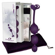 Bile vaginale si anale Close2You Rhapsodia purple