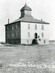 Buffalo County Courthouse (Ravenna, KS) Built 1889.  County was dissolved, part of that county is now located in Finney County Kansas.