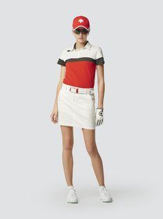 Golf Fashion, Mens Fashion, Womens Golf Wear, Ladies Golf, Dress Codes, Cheer Skirts, Shirt Designs, T Shirts For Women, Lady