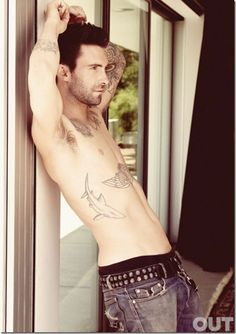 Adam Levine for Out Magazine