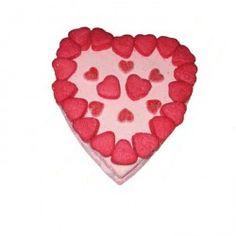 Tarta de Chuches con Forma de Corazón