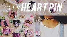 DIY Heart Pin