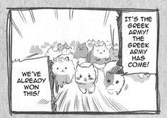 Geez! The Greek army!  Page #95 | Read Hetalia - Vol.3 Ch.0 Online - Mangasaurus, Read Manga Online!