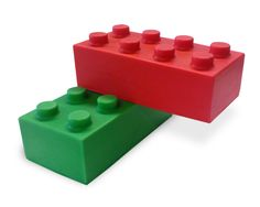 Our Connector Block Stressballs fit together like Lego!