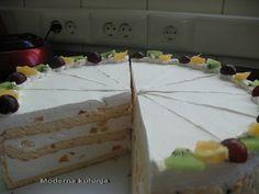 Moderna kuhinja - na moj način: Parfe torta od borovnica i brusnica