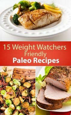15 Weight Watchers Friendly Paleo Recipes