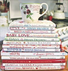 Susan Branch's Books. #cookbooks