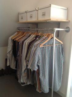 Pipe closet #KeeKlamp
