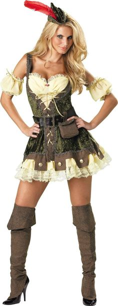 Racy Robin Hood Costume for Women - Party City--http://www.partycity.com/product/adult+racy+robin+hood+costume.do?navSet=116866