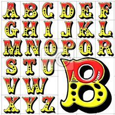 """Papier peint """"rudiments, alphabet, arrière-plan - abc alphabet conception de du cirque"""" ✓ Un large choix de matériaux ✓ Impression écologique 100% ✓ Regardez des opinions de nos clients !"""