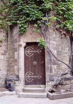 Wernigerode Germany, Castle Door from Schloss Wernigerode.