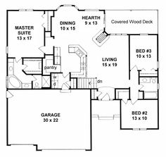 # 1 -- Saddlebrook - House Plan 62616 ~ love this one! YUP this is the one!