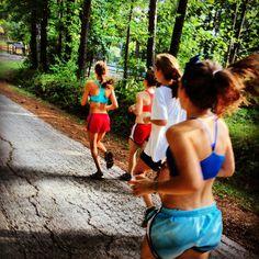 Group Running!