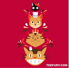Studio Kitty. Miyazaki Studio Ghibli Baron Meowjesty NI NO KUNI.