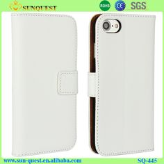 For iPhone 7 Case Genuine Leather Wallet Cover Case For iPhone 7