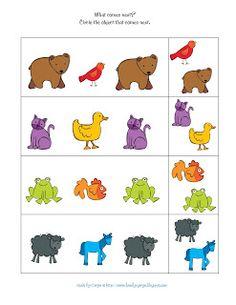 Preschool Printables: Brown Bear