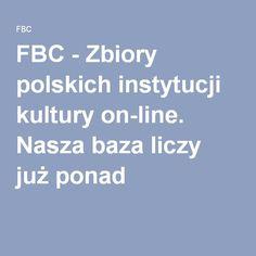 FBC-Zbiory polskich instytucji kultury on-line