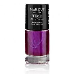 Time To Shine Nail Polish contains high shine, long lasting, quick drying colour that will transform your nails in minutes giving a sleek professional finish French Nail Designs, Cool Nail Designs, Acrylic Nail Designs, Purple Nail Polish, Blue Nails, Christmas Presents For Her, Dry Nails Quick, Classic Nails
