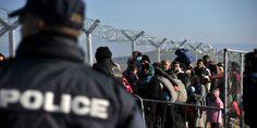 Έφοδοι της αστυνομίας σε καταυλισμούς προσφύγων