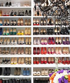 Scarpiere incredibili #shoes #closet #love