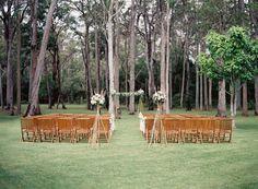 Backyard Wedding from Byron Loves Fawn