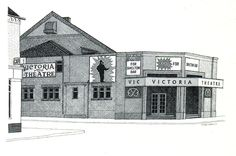 The first Victoria Theatre, Hartshill, Stoke-on-Trent where I saw Jesus born and WWIII and Scottish witches and the whole globe itself. Happy times.