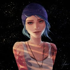 "art-by-yephire: ""Chloe Price. Because she's cool. """