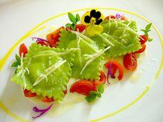 raviolines verdes