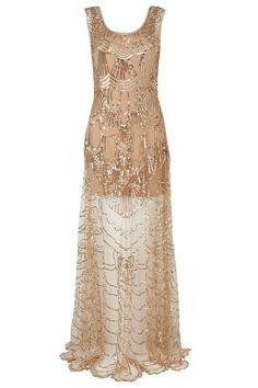 Jazz Age style - Cinderella Beaded Dress €270 Phase Eight