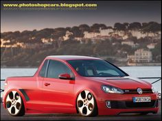 2010 Volkswagen GTI Pickup.  I like it.  But I don't think it's real.