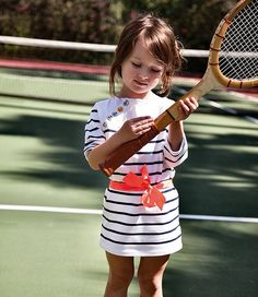 what a cool outfit for tennis