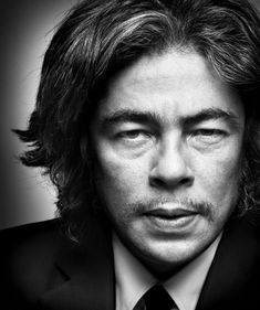 Benicio Del Toro. Fotógrafo Platon.
