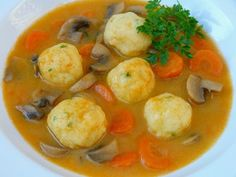 Krumplileves krumpligombóccal