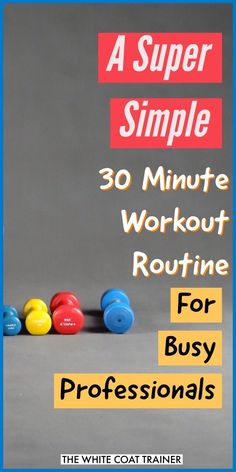 I think that we could all agree that there are way too many workout templates and exercise philosophies out there.It can be quite overwhelming trying to decide which programs work and which ones are a waste of time.Fortunately, we are here to cut through all of that noise.Let's face it. You are busy, and you have very little time to waste.This is why we created The Best Workout Routine for Busy People. #workoutroutine #30minuteworkout #exerciseprogram
