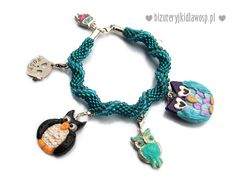 Hand made charms bracelet; for charity. For kids, made by kids :)