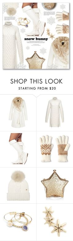 """Winter Fun: Snow Bunny Style"" by dressedbyrose ❤ liked on Polyvore featuring Alexander Wang, Isotoner, Woolrich, Louis Vuitton, Alex and Ani and Sarah & Sebastian"