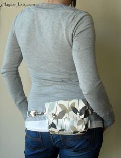 Hip Purse...a very cool version of a fanny pack;)... i love it...