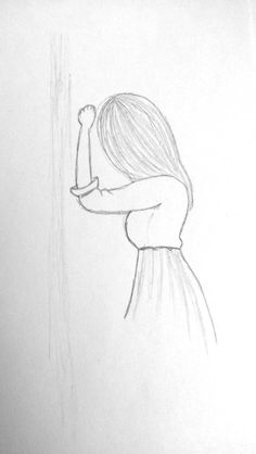 Girl Drawing Sketches, Art Drawings Sketches Simple, Girly Drawings, Art Drawings Beautiful, Pencil Art Drawings, Colorful Drawings, Croquis Disney, Art Painting Gallery, Art Inspiration Drawing