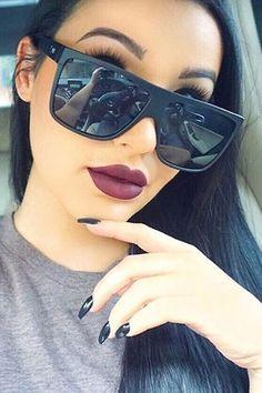Quay Australia - Barnun Black Smoke Designer Sunglasses