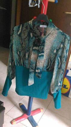 *Lotto 43* maglietta donna a manica lunga, semi trasparente taglia S -Zuiki- asta pazza da 1,00 euro il prezzo lo fate voi!!!