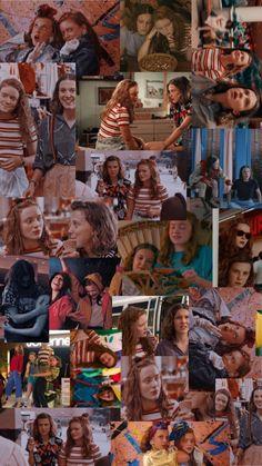 Millie and Sadie collage (El and Max) Stranger Things Tumblr, Stranger Things Actors, Stranger Things Aesthetic, Stranger Things Netflix, Aesthetic Iphone Wallpaper, Aesthetic Wallpapers, Cute Wallpapers, Wallpaper Backgrounds, Sadie